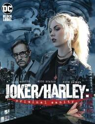 Joker Harley Criminal Sanity #1 Mayhew Variant DC Black Comic 1st Print 2019 NM