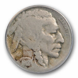 1918/7 D 5c Buffalo Nickel Pcgs G 6 Good To Very Good Strong Overdate