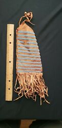 Native American Large Beaded Pouch , From A Major Collection 15