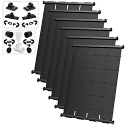 SwimJoy Premium Most Efficient DIY Solar Pool Heater Kit For In-Ground Pool