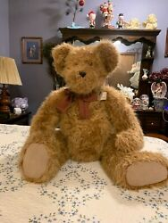 Boyds Bear 40 Big Harry Teddy Bear Extra Large Plush Retired Jointed Brown