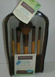 Ecotools 6 Piece Day to Night amp; Clutch Collection of Bamboo Makeup Brushes #1272 $12.99