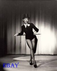Marlene Dietrich Does A Little Tap Photo From Original Negative