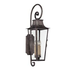 Troy Lighting French Quarter 4 Light Wall In Aged Pewter - B2963