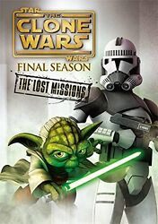 Star Wars The Clone Wars The Lost Missions Dvd Complete-japan 3 Dvd O75 Sd