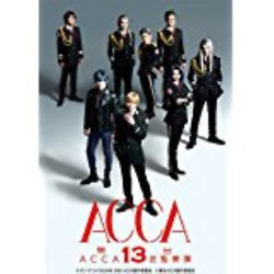 Acca-acca 13-territory Inspection Dept.-japan 2 Dvd+book T48 Sd