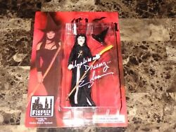 Elvira Rare Signed Autographed Limited Edition Action Figure Statue Photo Proof