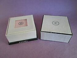 No 5 Scented Vintage 1940and039s Face Powder Poudre Naturelle Sealed In Box