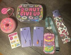 Claireandrsquos Donut Bag Unicorn Squishy Jewelry Hair Lot Justice Stickers