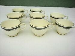 Lot Of 8 Vintage 1986 Royal Doulton Albany Tea Coffee Cups Mint H.5121