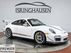 2011 Porsche 911 GT3 RS 4.0 2011 Porsche 911 GT3 RS 4.0 402 Miles Carrara White 2 Door Coupe Gas Flat 6-cyl