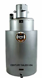 Stainless Vacuum Rema Dri-vac Rp12 3hp 3ph 3 Inlet 2.5 Outlet Ss Tank