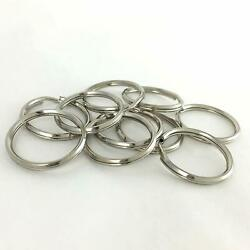 Key Ring | Nickel Plated | 3/4 To 1-1/4