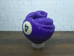Phyton Snake Gear Shift Knob Handle Transmission From Billiard Ball 4 Carved