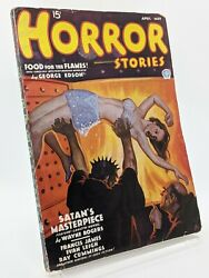 Horror Stories Pulp - April/may 1936 - Furnace Cover