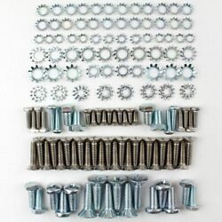 55 56 57 Chevy Station Wagon Upper Lift And Lower Tail Gate Screw Hinge Bolt Kit