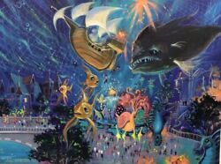 Eric Robison Painting Parade Of The Sea Lotte World Japan