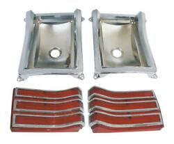 Pg Classic 165-66blkit Mopar 1966 Plymouth Belvedere And Satellite Taillight Kit