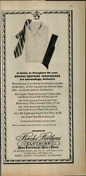 1956 Brooks Brothers Clothing Men Shirts And Ties Vintage Print Ad 3075