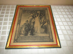 Wwi Us Named Soldiers Wounded In Action Certificate Signed By Woodrow Wilson