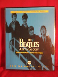 The Beatles Anthology Abc Tv Reviewer Package 3 Sealed Vhs Tapes Press Kit Notes