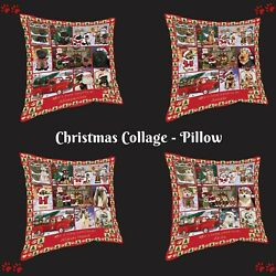 Love Is Being Owned Christmas Pillow, Dogs, Cats, Pet Photo Home Decor Gifts