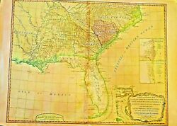 A General Map The Southern Dominions Belonging To The United States 1794 Rare