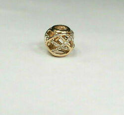 Authentic PANDORA S925 Rose Galaxy Charm with CZ