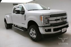 2019 Ford F-350  2019 Navigation Leather Heated Camera Bluetooth V8 Diesel Vernon Auto Group