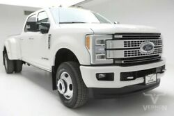 2019 Ford F-350  2019 Navigation Sunroof Leather Heated Bluetooth V8 Diesel Vernon Auto Group