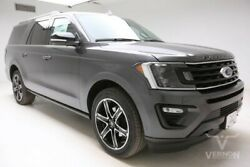 2019 Ford Expedition  2019 Navigation Sunroof Heated Leather Bluetooth V6 Ecoboost Vernon Auto Group
