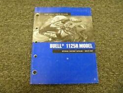 2008 Buell 1125r 1125 R Superbike Motorcycle Factory Parts Catalog Manual