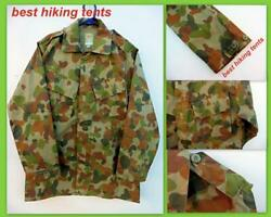 Auscam Military Army Long Sleeve Shirt Bdu Tactical Cotton Clothing Pocket New