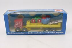 Vintage Heros Wooden Truck Toy Germany Boxed