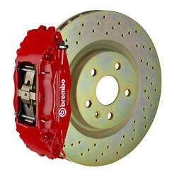 Brembo Gt Bbk For 05-14 Mustang Gt   Front 4pot Red 1b4.8001a2