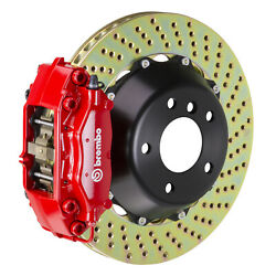 Brembo Gt Bbk For 06-13 Is250 / Is350 Excl. Awd | Rear 4pot Red 2c1.8027a2