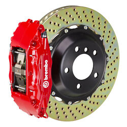 Brembo Gt Bbk For 95-98 993 C4s / Turbo   Front 4pot Red 1b1.8022a2