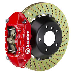 Brembo Gt Bbk For 95-98 993 C2 / C4   Rear 4pot Red 2p1.8019a2
