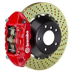 Brembo Gt Bbk For 95-98 993 C4s / Turbo   Rear 4pot Red 2p1.8019a2