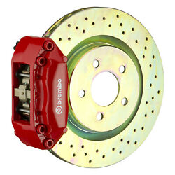 Brembo Gt Bbk For 00-04 Jetta 1.8t / Vr6 Mk4 | Front 4pot Red 1a4.6002a2