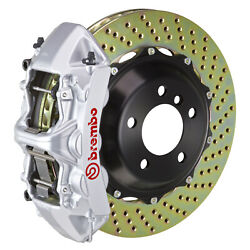 Brembo Bbk For 08-10 Challenger W/v8 Engine Excl. | Front 6pot Silver 1m1.8027a3