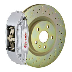 Brembo Gt Bbk For 05-14 Mustang Gt   Front 4pot Silver 1b4.8001a3