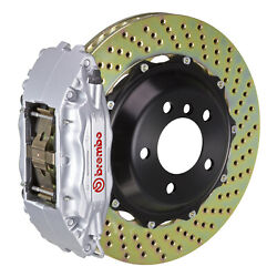 Brembo Gt Bbk For 95-98 993 C4s / Turbo   Front 4pot Silver 1b1.8022a3