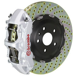 Brembo Gt Bbk For 2020 992 C2s / C4s Excl. Pscb | Front 6pot Silver 1n1.9068a3
