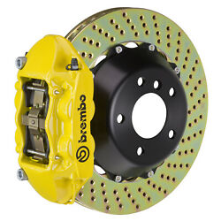 Brembo Gt Bbk For 95-98 993 C4s / Turbo   Rear 4pot Yellow 2p1.8019a5