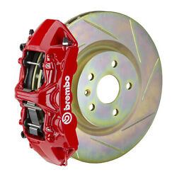 Brembo Gt Bbk For 05-14 Mustang Gt | Front 6pot Red 1m5.8001a2