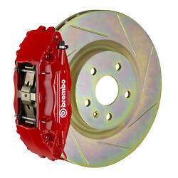 Brembo Gt Bbk For 05-14 Mustang Gt   Front 4pot Red 1b5.8001a2