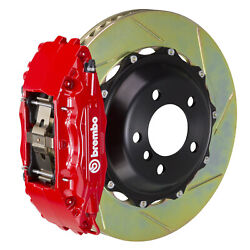 Brembo Gt Bbk For 95-98 993 C4s / Turbo   Front 4pot Red 1b2.8022a2