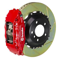 Brembo Gt Bbk For 95-98 240sx / W/ 5-lug Hubs   Front 4pot Red 1b2.7012a2