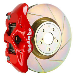 Brembo Bbk For 15-19 Wrx Excl. Models W/ Electronic   Front 4pot Red 1s5.6002a2